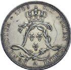 Photo numismatique  ARCHIVES VENTE 2015 -19 juin ROYALES FRANCAISES LOUIS XVI (10 mai 1774–21 janvier 1793)  Essai de l'écu de Calonne, Paris 1786.