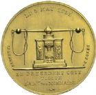 Photo numismatique  ARCHIVES VENTE 2015 -19 juin MODERNES FRANÇAISES 4ème RÉPUBLIQUE (16 janvier 1947-3 octobre 1958)  Module de 20 francs oVisite du Président Coty à la Monnaie de Paris, le 5 mai 1955.