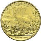Photo numismatique  ARCHIVES VENTE 2015 -19 juin MODERNES FRANÇAISES 5e REPUBLIQUE (Depuis le 4 octobre 1958)  Projet du module de 20 francs or, bicentenaire de la Révolution, 1989.