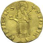 Photo numismatique  ARCHIVES VENTE 2015 -19 juin BARONNIALES Evêché d'ARLES ETIENNE DE LA GARDE (1351-1361) Florin d'or.