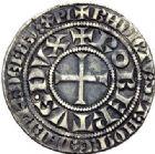 Photo numismatique  ARCHIVES VENTE 2015 -19 juin BARONNIALES Duché de BAR ROBERT (1354-1411) Gros tournois.