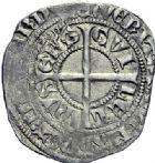 Photo numismatique  ARCHIVES VENTE 2015 -19 juin BARONNIALES Evêché de CAMBRAI GUILLAUME II d'Auxonne. (1336-1342).  Gros à la couronne.