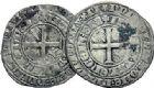 Photo numismatique  ARCHIVES VENTE 2015 -19 juin BARONNIALES Comté de HAINAUT MARGUERITE II d'Avesnes (1345-1356) Gros ou plaques, Valenciennes.