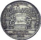 Photo numismatique  ARCHIVES VENTE 2015 -19 juin JETONS DE L'ANCIEN RÉGIME VALENCIENNES Conseil de la Ville. Jeton du magistrat.