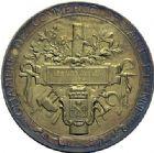 Photo numismatique  ARCHIVES VENTE 2015 -19 juin MEDAILLES MEDAILLES FRANCAISES ET ETRANGERES Ville de Saint-Etienne Médaille en vermeil de la Chambre de Commerce, 1896.