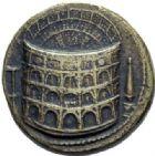 Photo numismatique  ARCHIVES VENTE 2015 -19 juin MEDAILLES MEDAILLES FRANCAISES ET ETRANGERES ROME. Style padouan Sesterce au colisée de Titus.