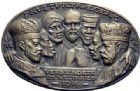 Photo numismatique  ARCHIVES VENTE 2015 -19 juin MEDAILLES MEDAILLES SATIRIQUES ALLEMANDES Médailles de Karl Goetz Les porteurs de la Culture, 1914.