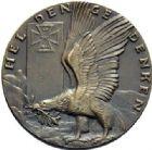 Photo numismatique  ARCHIVES VENTE 2015 -19 juin MÉDAILLES MEDAILLES SATIRIQUES ALLEMANDES  Mémorial aux héros, 1914. Auf dem Felder der Ehre-Heldengedenken.
