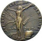 Photo numismatique  ARCHIVES VENTE 2015 -19 juin MEDAILLES MEDAILLES SATIRIQUES ALLEMANDES  Mémorial aux héros, 1914. Auf dem Felder der Ehre-Heldengedenken.
