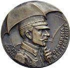 Photo numismatique  ARCHIVES VENTE 2015 -19 juin MEDAILLES MEDAILLES SATIRIQUES ALLEMANDES Médailles de Karl Goetz Général Cadorna, 1915-1916. Sisyphos am Isonzo.