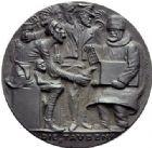 Photo numismatique  ARCHIVES VENTE 2015 -19 juin MEDAILLES MEDAILLES SATIRIQUES ALLEMANDES Médailles de Karl Goetz Refus de la Paix allemande, 12 décembre 1916. Friedensangebot des Mittelmächte.
