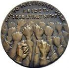 Photo numismatique  ARCHIVES VENTE 2015 -19 juin MÉDAILLES MEDAILLES SATIRIQUES ALLEMANDES Médailles de Karl Goetz Les conditions de l'armistice, 11 novembre 1918. Waffenstillstandsbedingungen.
