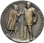 Photo numismatique  ARCHIVES VENTE 2015 -19 juin MÉDAILLES MEDAILLES SATIRIQUES ALLEMANDES Médailles de Karl Goetz Lettres de l'empereur au Dr Nicky (1895). Dr Eisenbarth.