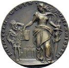 Photo numismatique  ARCHIVES VENTE 2015 -19 juin MEDAILLES MEDAILLES SATIRIQUES ALLEMANDES Médailles de Karl Goetz L'Allemagne renvoie l'empereur, 1918. Germania entlässt Wilhelm II.