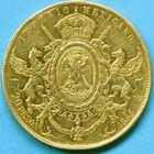 Photo numismatique  MONNAIES MONNAIES DU MONDE MEXIQUE MAXIMILIEN, empereur (1864-1867) 20 pesos or.