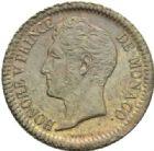 Photo numismatique  MONNAIES MONNAIES DU MONDE MONACO HONORE V (1819-1841)  Un décime de 1838.