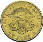 Photo numismatique  ARCHIVES VENTE 2015 -19 juin DERNIÈRE MINUTE USA  20 dollars, New-Orléans 1851.