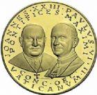 Photo numismatique  ARCHIVES VENTE 2015 -19 juin DERNIÈRE MINUTE ITALIE. Saint-Siège  Médaille du Concile Vatican II.