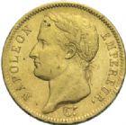Photo numismatique  MONNAIES MODERNES FRANÇAISES NAPOLEON Ier, empereur (18 mai 1804- 6 avril 1814)  40 francs, Paris 1811.