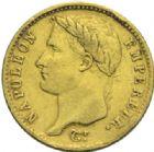 Photo numismatique  MONNAIES MODERNES FRANÇAISES NAPOLEON Ier, empereur (18 mai 1804- 6 avril 1814)  20 francs or, Paris 1807.
