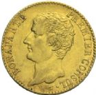 Photo numismatique  MONNAIES MODERNES FRANÇAISES BONAPARTE, 1er consul (24 décembre 1799-18 mai 1804)  20 francs or, Paris an 12.
