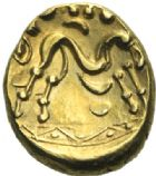 Photo numismatique  MONNAIES GAULE - CELTES AMBIANI (Bassin de la Somme)  Statère de la variété 2.