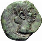 Photo numismatique  MONNAIES GAULE - CELTES MONNAYAGE GALLO-ROMAIN, Gaule Belgique  Bronze à la légende Germanus Indutilli (vers 10 avant J.C. - 30 après J.C.).