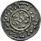 Photo numismatique  MONNAIES CAROLINGIENS CHARLES LE CHAUVE, roi (840-875) - empereur (jour de Noël 875-6 octobre 877)  Denier, Curtisassonien.