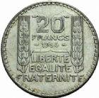 Photo numismatique  MONNAIES MODERNES FRANÇAISES 3ème REPUBLIQUE (4 septembre 1870-10 juillet 1940)  20 francs, 1936.