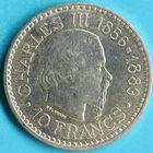 Photo numismatique  MONNAIES MONNAIES DU MONDE MONACO RAINIER III (1949-2005) 10 francs de 1966.