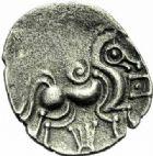 Photo numismatique  MONNAIES IBERIE- GAULE - CELTES ABRINCATUI (Région d'Avranches)  Division.