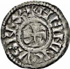 Photo numismatique  ARCHIVES VENTE 2015 -26-28 oct -Coll Jean Teitgen ROYALES FRANCAISES HENRI I (1031-1060)  3- Denier, Chalon-sur-Saône (hors domaine royal).