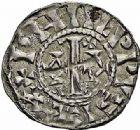 Photo numismatique  ARCHIVES VENTE 2015 -26-28 oct -Coll Jean Teitgen ROYALES FRANCAISES PHILIPPE Ier (4 août 1060-29 juillet 1108)  4- Lot de 2 monnaies.