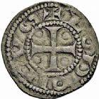 Photo numismatique  ARCHIVES VENTE 2015 -26-28 oct -Coll Jean Teitgen ROYALES FRANCAISES LOUIS VII (1er août 1137-18 septembre 1180)  8- Lot de 2 monnaies.
