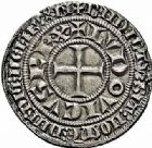 Photo numismatique  ARCHIVES VENTE 2015 -26-28 oct -Coll Jean Teitgen ROYALES FRANCAISES LOUIS IX, Saint Louis (3 novembre 1226-24 août 1270)  Gros tournois (1266-1270).