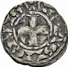 Photo numismatique  ARCHIVES VENTE 2015 -26-28 oct -Coll Jean Teitgen ROYALES FRANCAISES LOUIS IX, Saint Louis (3 novembre 1226-24 août 1270)  13- Denier parisis.