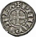 Photo numismatique  ARCHIVES VENTE 2015 -26-28 oct -Coll Jean Teitgen ROYALES FRANCAISES PHILIPPE III LE HARDI (25 août 1270-5 octobre 1285)  19- Deniers (2) et maille tournois.