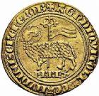 Photo numismatique  ARCHIVES VENTE 2015 -26-28 oct -Coll Jean Teitgen ROYALES FRANCAISES PHILIPPE IV LE BEL (5 octobre 1285-30 novembre 1314)  20- Agnel d'or (26 janvier 1311).