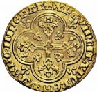 Photo numismatique  ARCHIVES VENTE 2015 -26-28 oct -Coll Jean Teitgen ROYALES FRANCAISES PHILIPPE IV LE BEL (5 octobre 1285-30 novembre 1314)  20- Agnel d'or (26 janvier 1311).