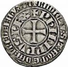 Photo numismatique  ARCHIVES VENTE 2015 -26-28 oct -Coll Jean Teitgen ROYALES FRANCAISES PHILIPPE IV LE BEL (5 octobre 1285-30 novembre 1314)  23- Gros tournois à l'0 long et au lis (1298), Bruges ?