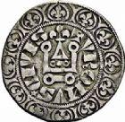 Photo numismatique  ARCHIVES VENTE 2015 -26-28 oct -Coll Jean Teitgen ROYALES FRANCAISES PHILIPPE IV LE BEL (5 octobre 1285-30 novembre 1314)  23- Gros tournois à l'0 long et au lis (1298), Bruges?