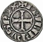Photo numismatique  ARCHIVES VENTE 2015 -26-28 oct -Coll Jean Teitgen ROYALES FRANCAISES PHILIPPE IV LE BEL (5 octobre 1285-30 novembre 1314)  26- Denier tournois, 1307/1310.