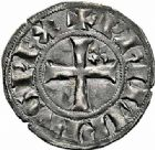 Photo numismatique  ARCHIVES VENTE 2015 -26-28 oct -Coll Jean Teitgen ROYALES FRANCAISES PHILIPPE IV LE BEL (5 octobre 1285-30 novembre 1314)  28- Double tournois, 1ère émission (septembre 1295-1303).