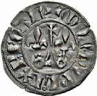Photo numismatique  ARCHIVES VENTE 2015 -26-28 oct -Coll Jean Teitgen ROYALES FRANCAISES PHILIPPE IV LE BEL (5 octobre 1285-30 novembre 1314)  28- Double tournois, 1ère émission (septembre 1295-1303).