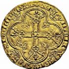 Photo numismatique  ARCHIVES VENTE 2015 -26-28 oct -Coll Jean Teitgen ROYALES FRANCAISES CHARLES IV LE BEL (3 janvier 1322–1er février 1328)  34- Royal d'or (16 février 1326).