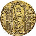 Photo numismatique  ARCHIVES VENTE 2015 -26-28 oct -Coll Jean Teitgen ROYALES FRANCAISES PHILIPPE VI DE VALOIS(1er avril 1328-22 août 1350)  Royal d'or (2 mai 1328).