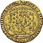 Photo numismatique  ARCHIVES VENTE 2015 -26-28 oct -Coll Jean Teitgen ROYALES FRANCAISES PHILIPPE VI DE VALOIS(1er avril 1328-22 août 1350)  42- Pavillon d'or (8 juin 1339).