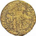 Photo numismatique  ARCHIVES VENTE 2015 -26-28 oct -Coll Jean Teitgen ROYALES FRANCAISES PHILIPPE VI DE VALOIS(1er avril 1328-22 août 1350)  43- Ange d'or de la 2ème émission (8 août 1341).