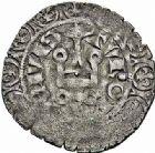 Photo numismatique  ARCHIVES VENTE 2015 -26-28 oct -Coll Jean Teitgen ROYALES FRANCAISES JEAN II LE BON (22 août 1350-18 avril 1364)  52- Blanc à l'épi, 2ème émission (22 juillet 1352).