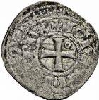 Photo numismatique  ARCHIVES VENTE 2015 -26-28 oct -Coll Jean Teitgen ROYALES FRANCAISES JEAN II LE BON (22 août 1350-18 avril 1364)  53- Blanc au châtel tréflé, 3ème émission (17 mai 1354).